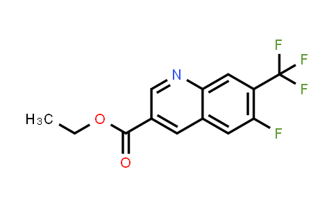 MC458962 | 958332-72-4 | 6-FLUORO-7-TRIFLUOROMETHYL-QUINOLINE-3-CARBOXYLIC ACID ETHYL ESTER