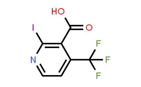 749875-17-0 | 2-IODO-4-TRIFLUOROMETHYL-NICOTINIC ACID