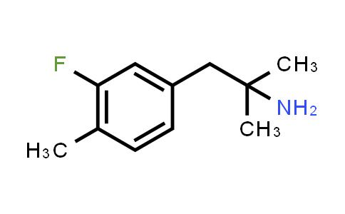 787585-32-4 | 2-(3-FLUORO-4-METHYL-PHENYL)-1,1-DIMETHYL-ETHYLAMINE