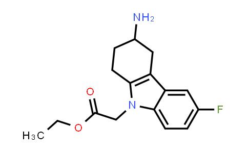 1007215-80-6 | (3-AMINO-6-FLUORO-1,2,3,4-TETRAHYDRO-CARBAZOL-9-YL)-ACETIC ACID ETHYL ESTER