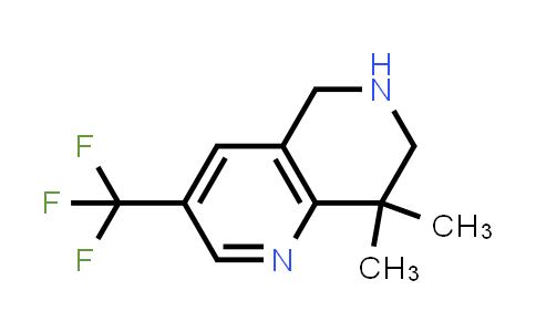 1211519-62-8 | 8,8-DIMETHYL-3-TRIFLUOROMETHYL-5,6,7,8-TETRAHYDRO-[1,6]NAPHTHYRIDINE