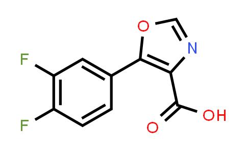 1247921-87-4 | 5-(3,4-DIFLUORO-PHENYL)-OXAZOLE-4-CARBOXYLIC ACID