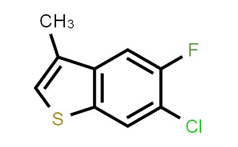 752134-91-1 | 6-CHLORO-5-FLUORO-3-METHYL-BENZO[B]THIOPHENE