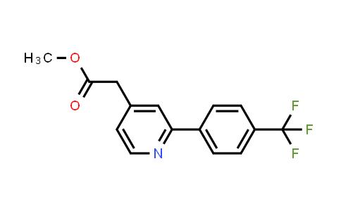 884600-79-7 | METHYL 2-(2-(4-(TRIFLUOROMETHYL)PHENYL)PYRIDIN-4-YL)ACETATE
