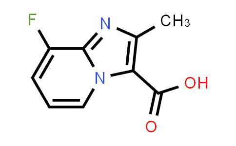 1159831-81-8 | 8-FLUORO-2-METHYL-IMIDAZO[1,2-A]PYRIDINE-3-CARBOXYLIC ACID