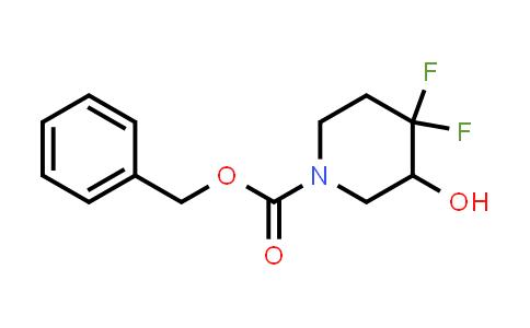 1334417-91-2 | benzyl 4,4-difluoro-3-hydroxypiperidine-1-carboxylate