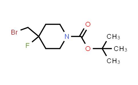 1207176-24-6 | tert-butyl 4-(Bromomethyl)-4-fluoropiperidine-1-carboxylate