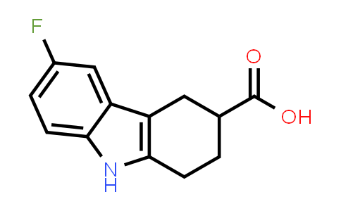 MC459023   907211-31-8   6-FLUORO-2,3,4,9-TETRAHYDRO-1H-CARBAZOLE-3-CARBOXYLIC ACID