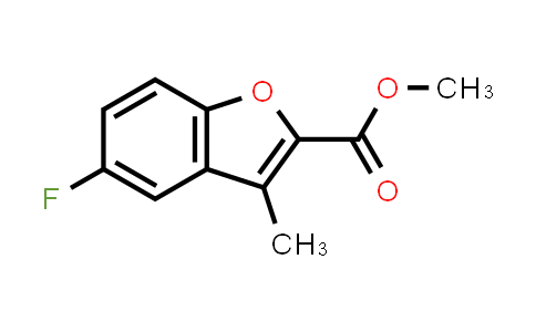 MC459080 | 879925-30-1 | METHYL 5-FLUORO-3-METHYLBENZOFURAN-2-CARBOXYLATE