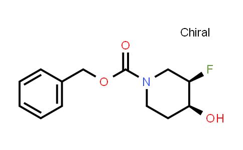913574-95-5 | cis-1-cbz-3-fluoro-4-hydroxypiperidine