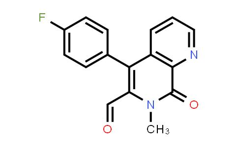MC459091 | 170640-07-0 | 5-(4-FLUORO-PHENYL)-7-METHYL-8-OXO-7,8-DIHYDRO-[1,7]NAPHTHYRIDINE-6-CARBALDEHYDE