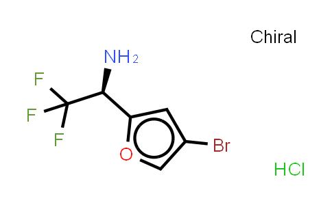 473731-84-9 | (R)-1-(4-BROMO-FURAN-2-YL)-2,2,2-TRIFLUORO-ETHYLAMINE, HCL SALT