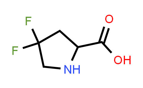 MC459094 | 52683-81-5 | 4,4-difluoropyrrolidine-2-carboxylic acid
