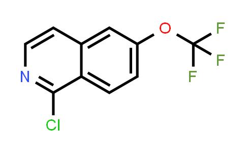 MC459095   630423-44-8   1-CHLORO-6-(TRIFLUOROMETHOXY)ISOQUINOLINE