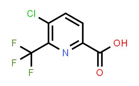 749875-06-7 | 5-CHLORO-6-TRIFLUOROMETHYL-PYRIDINE-2-CARBOXYLIC ACID