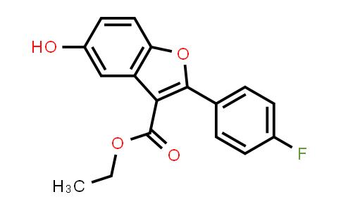 691856-86-7 | 2-(4-FLUORO-PHENYL)-5-HYDROXY-BENZOFURAN-3-CARBOXYLIC ACID ETHYL ESTER
