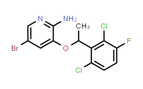 MC459101 | 756503-69-2 | 5-BROMO-3-(1-(2,6-DICHLORO-3-FLUOROPHENYL)ETHOXY)PYRIDIN-2-AMINE