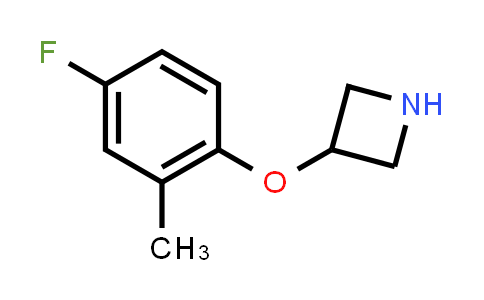 MC459106 | 954223-51-9 | 3-(4-FLUORO-2-METHYL-PHENOXY)-AZETIDINE