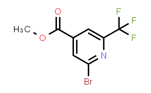 MC459111 | 1227563-24-7 | 2-BROMO-6-TRIFLUOROMETHYL-ISONICOTINIC ACID METHYL ESTER