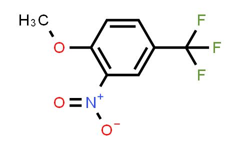 394-25-2 | 1-methoxy-2-nitro-4-(trifluoromethyl)benzene