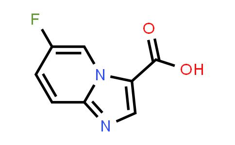 1019021-85-2   6-FLUOROIMIDAZO[1,2-A]PYRIDINE-3-CARBOXYLIC ACID