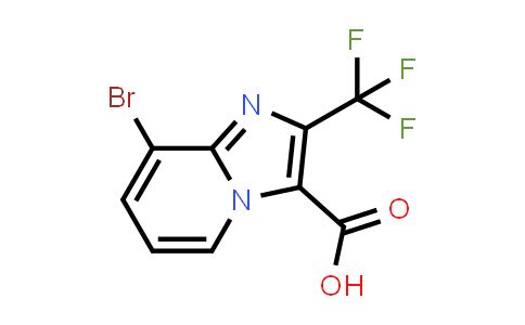 1038389-86-4 | 8-BROMO-2-TRIFLUOROMETHYL-IMIDAZO[1,2-A]PYRIDINE-3-CARBOXYLIC ACID