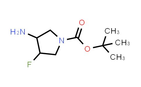 1260848-87-0 | tert-butyl 3-amino-4-fluoropyrrolidine-1-carboxylate