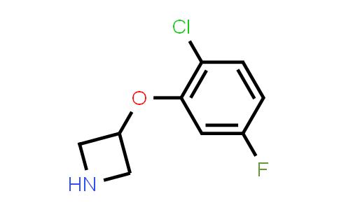 1236862-43-3   3-(2-CHLORO-5-FLUORO-PHENOXY)-AZETIDINE