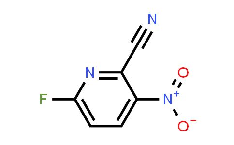 171178-30-6 | 6-FLUORO-3-NITRO-PYRIDINE-2-CARBONITRILE