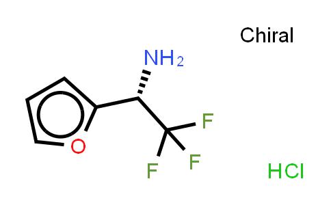 MC459134   336105-47-6   (S)-2,2,2-TRIFLUORO-1-FURAN-2-YL-ETHYLAMINE, HCL SALT