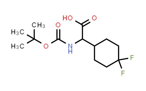 394735-65-0 | TERT-BUTOXYCARBONYLAMINO-(4,4-DIFLUORO-CYCLOHEXYL)-ACETIC ACID