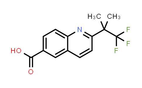 MC459143 | 958332-44-0 | 2-(2,2,2-TRIFLUORO-1,1-DIMETHYL-ETHYL)-QUINOLINE-6-CARBOXYLIC ACID