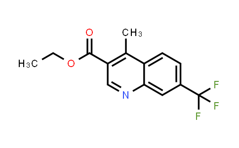 MC459147 | 958331-16-3 | 4-METHYL-7-TRIFLUOROMETHYL-QUINOLINE-3-CARBOXYLIC ACID ETHYL ESTER