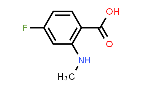 128992-62-1 | 4-fluoro-2-(methylamino)benzoic acid