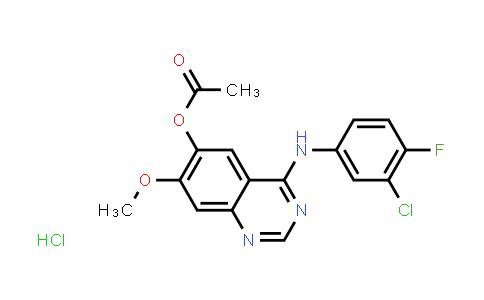 184475-70-5 | 4-(3-chloro-4-fluorophenylamino)-7-methoxyquinazolin-6-yl acetate hydrochloride