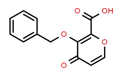 119736-16-2 | 3-(Benzyloxy)-4-oxo-4h-pyran-2-carboxylic acid