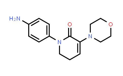 1267610-26-3 | 1-(4-AMinophenyl)-5,6-dihydro-3-(4-Morpholinyl)-2(1h)-pyridinone