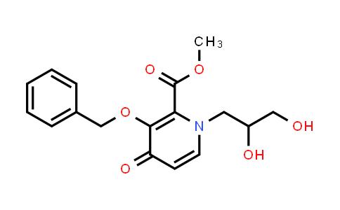 1206102-07-9 | Methyl 3-(benzyloxy)-1-(2,3-dihydroxypropyl)-4-oxo-1,4-dihydropyridine-2-carboxylate