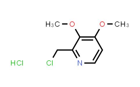72830-09-2 | 2-CHLOROMETHYL-3,4-DIMETHOXY PYRIDINE HCl