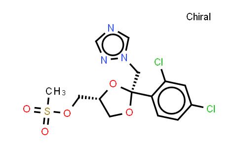 67914-86-7 | cis-2-(2,4-Dichlorophenyl)-2-(1H-1,2,4-triazol-1-ylmethyl)-1,3-dioxolane-4-methanol methanesulfonate