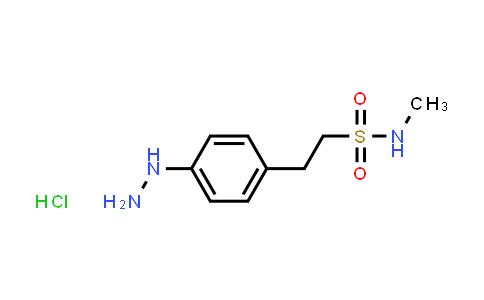 42381-27-1 | 4-Hydrazino-N-Methyl Benzene Ethane Sulfonamide Hydrochloride