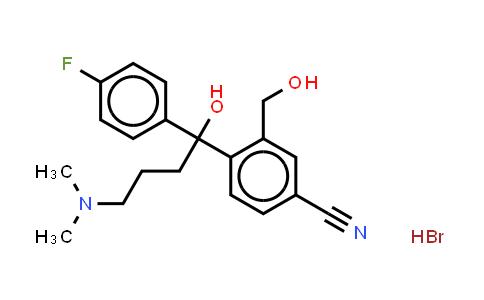 103146-25-4 | 4-[4-(Dimethylamino)-1-(4'-Fluorophenyl)-1-Hydroxybutyl]-3-(Hydroxymethyl)Benzonitrile