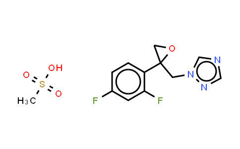 86386-77-8 | 2-[[(2,4-Difluorophenyl)-2-oxiranyl]methyl]-1H-1,2,4-triazole methanesulfonate