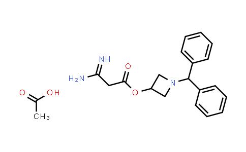 DY459266 | 170749-59-4 | 3-Amino-3-iminopropanoic acid 1-(diphenylmethyl)-3-azetidinyl ester acetate