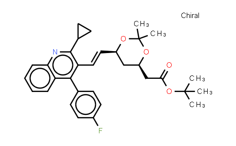 147489-06-3 | t-Butyl (3R,5S)-7-[2-cyclopropyl-4-(4-fluorophenyl)quinolin-3-yl]-3,5-isopropylidenedioxy-6-heptenoate
