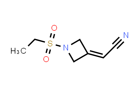 1187595-85-2 | 2-(1-(ethylsulfonyl)azetidin-3-ylidene)acetonitrile
