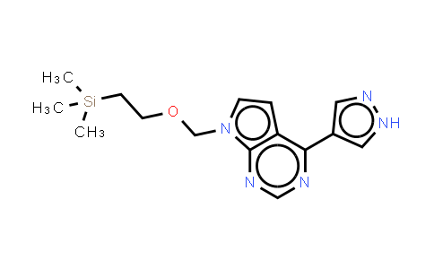 DY459282 | 941685-27-4 | 4-(1H-Pyrazol-4-yl)-7-((2-(trimethylsilyl)ethoxy)methyl-7H-pyrrolo[2,3-d]pyrimidine