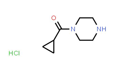 1021298-67-8 | Piperazine, 1-(cyclopropylcarbonyl)-, monohydrochloride