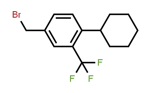800381-60-6 | 4-(bromomethyl)-1-cyclohexyl-2-(trifluoromethyl)benzene