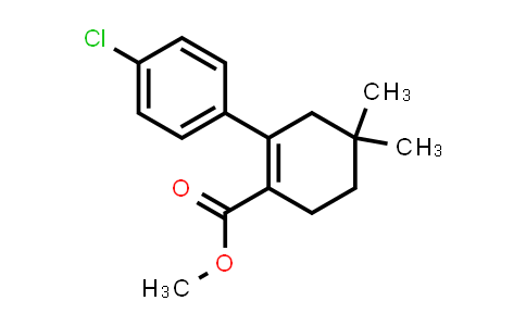 1228780-49-1 | Methyl 2-(4-chlorophenyl)-4,4-dimethylcyclohex-1-ene-1-carboxylate
